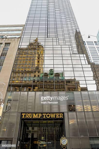 Exterior view of Trump Tower New York New York January 10 2017
