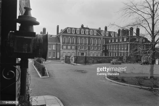Exterior view of Witanhurst House in Highgate London on 8th March 1971