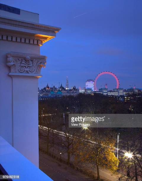 Exterior view over st James park at dusk Architectural Stock Various United Kingdom Architect n/a 2016