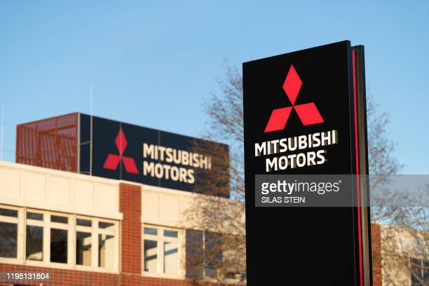 Exterior view taken on January 21 2020 shows a German plant of Japanese automaker Mitsubishi in Friedberg western Germany German prosecutors on...