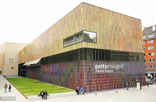 Exterior view taken on May 14 2009 shows the Museum Brandhorst in the southern German city of Munich that is set to open to the public on on May 21...