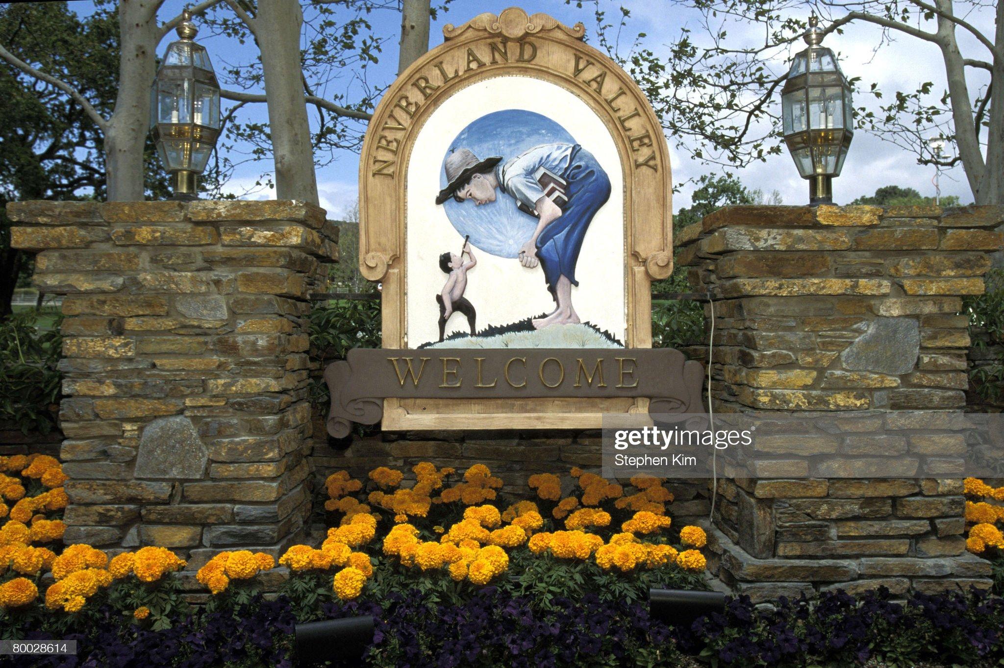 Michael Jackson's Neverland Ranch - April 1995 File Photos : Fotografia de notícias