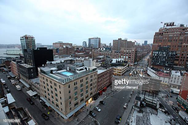 Exterior views of the Soho House on December 13, 2010 in New York City. Swimsuit designer Sylvie Cachay was found dead in her room on December 9,...