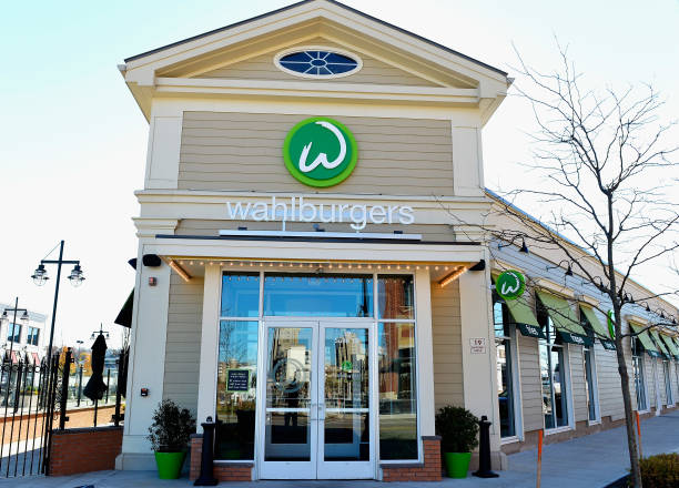 Exterior Views Of Wahlburgers Family Restaurant