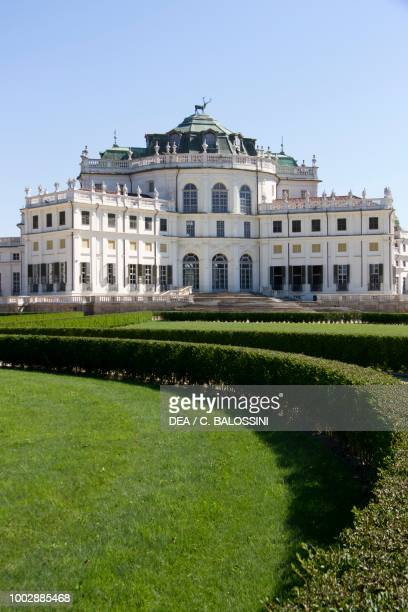 Exteriors of the Hunting residence as seen from the gardens by Filippo Juvarra Stupinigi Piedmont Italy 18th century