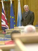 EU external affairs commissioner Chris Patten