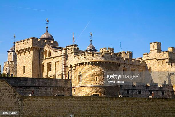 External fortifications of the Tower of London.