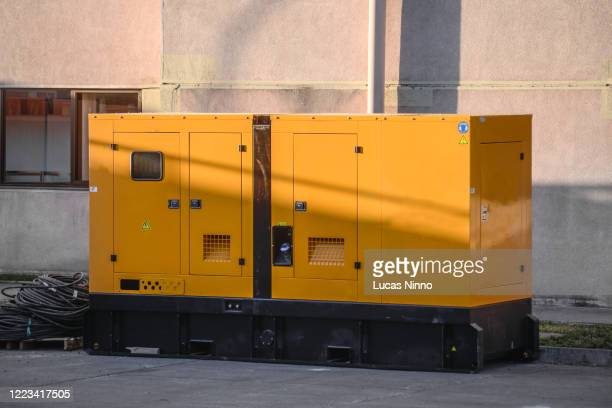 external power generator. - generator stock pictures, royalty-free photos & images