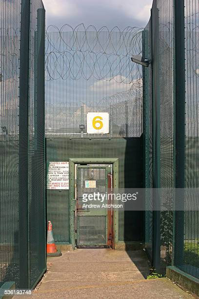 External security gate number 6 at HMP Downview HM Prison Downview is a women's closed category prison Downview is located on the outskirts of...