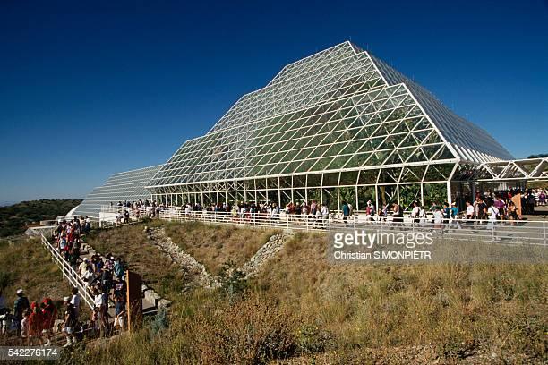 External view of Space Biosphere