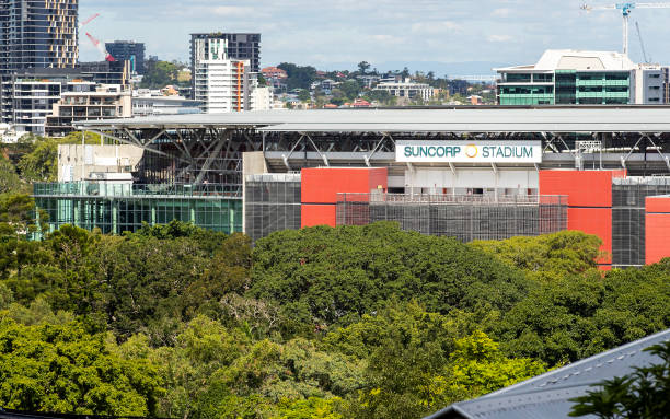 AUS: Brisbane Stadiums Remain Unused Under Covid 19 Restrictions on Sport