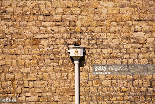 External wall of the Tower of London