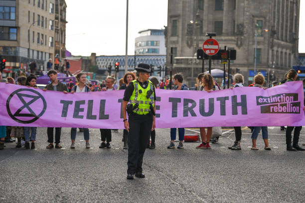 GBR: Extinction Rebellion Plan Week Of Action In UK's Major Cities