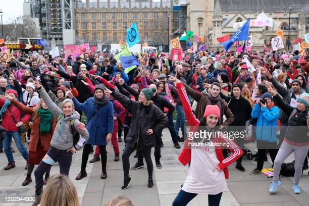 Extinction Rebellion stage a climate change protest and march in London 'Enough Is Enough : Together We March'- PHOTOGRAPH BY Matthew Chattle /...