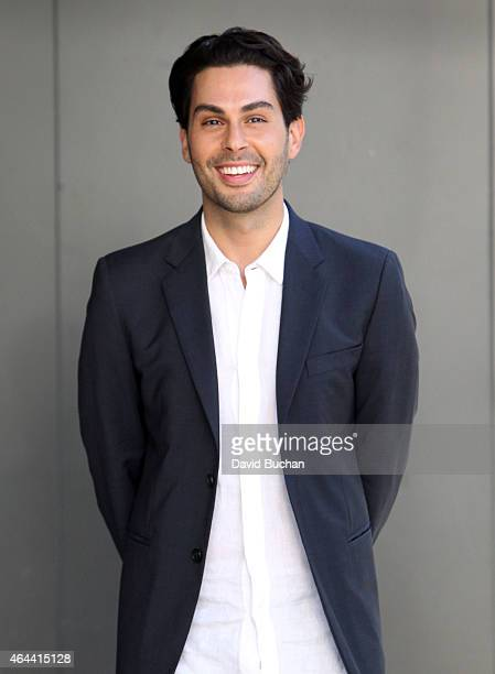 Extra Interviews Joey Maalouf at Westfield Century City on February 25 2015 in Los Angeles California