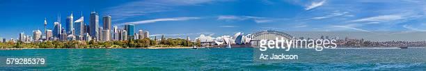 Extra long Sydney harbour skyline