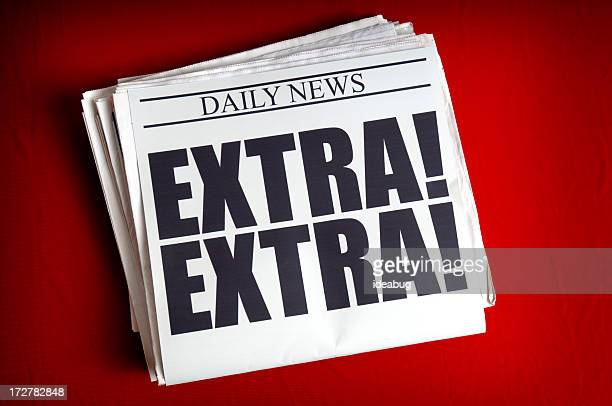 extra! - incentive stock photos and pictures