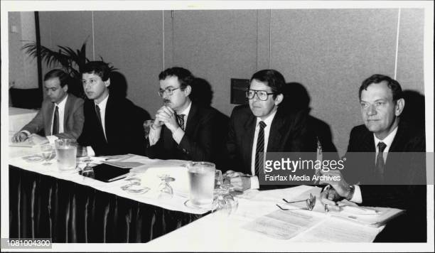 Extraordinary Annual General Meeting of APA Holdings which was held in the Georgian Room at The Menzies HotelLr H Coombs Garry A Carter N Fearis M...