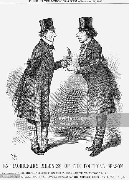 'Extraordinary Mildness of The Political Season' 1869 The new Prime Minister Gladstone meets with the former Prime Minister Disraeli The new session...