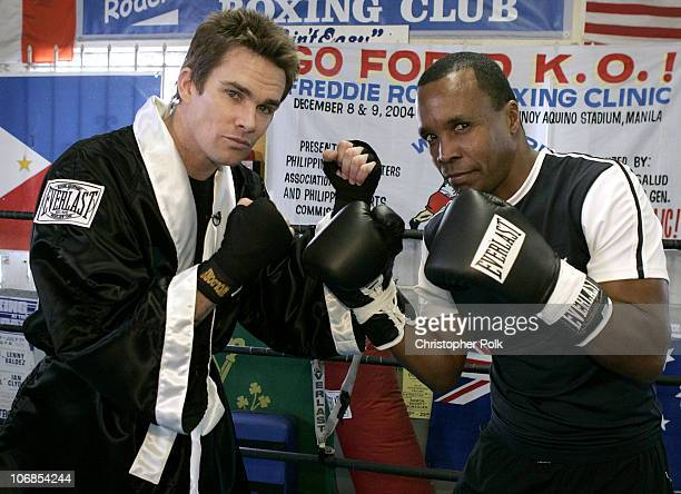 """Extra's"" Mark McGrath and Sugar Ray Leonard *exclusive*"