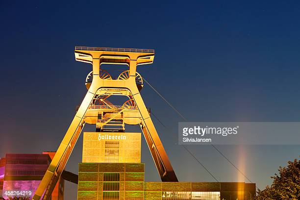 extraschicht でツォルフェライン立抗シャフトタワー - エッセン ストックフォトと画像