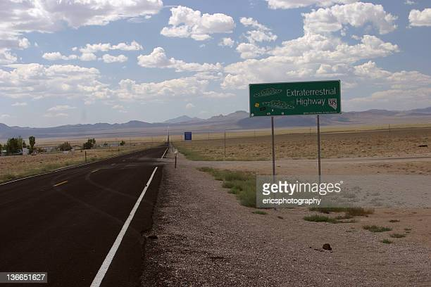 Extraterrestrial Highway in Nevada