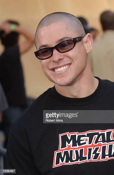 Extreme athlete Brian Deegan attends ESPN's Ultimate X movie premiere May 6, 2002 in Universal City, CA.
