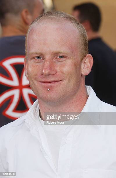 Extreme athlete Ryan Nyquist attends ESPN's Ultimate X movie premiere May 6, 2002 in Universal City, CA.