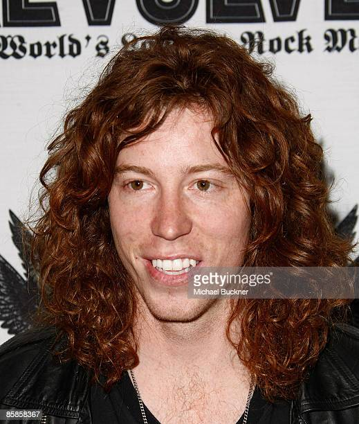 Extreme athlete Shaun White arrives at the 1st Annual Epiphone Revolver Golden Gods Awards at the Club Nokia on April 7 2009 in Los Angeles California