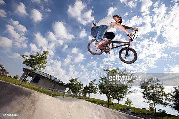 BMX Extreme Bike Rider