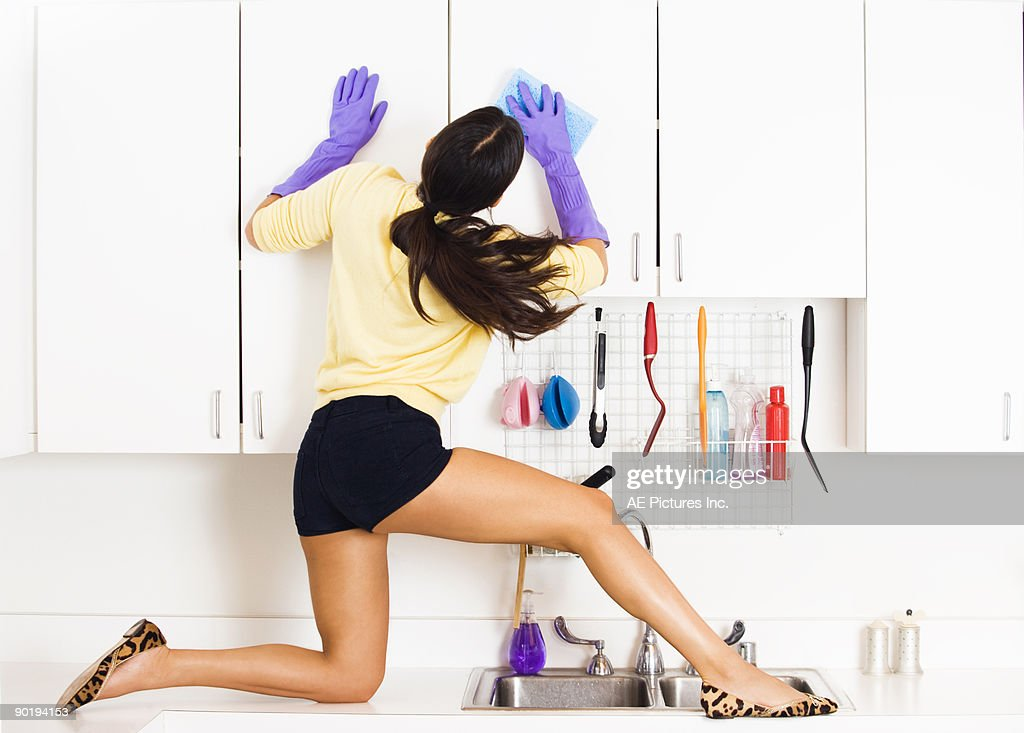 Extreme cleaning : Stock Photo
