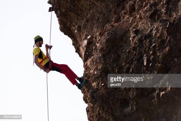 extreme climbing - individual event stock pictures, royalty-free photos & images