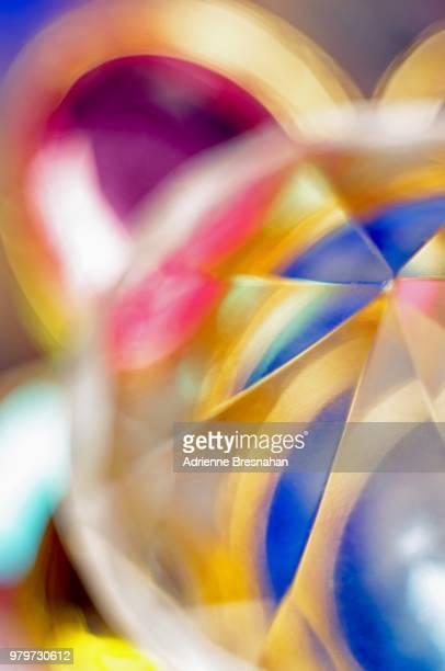 Extreme Close-up of Gemstones, Defocused