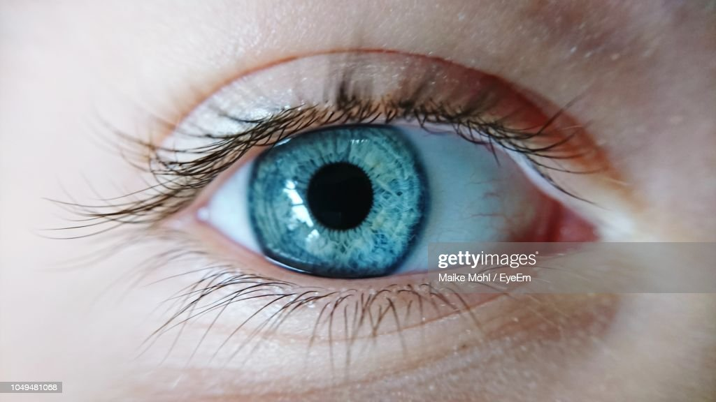 Extreme Close-Up Of Human Eye : Stock-Foto