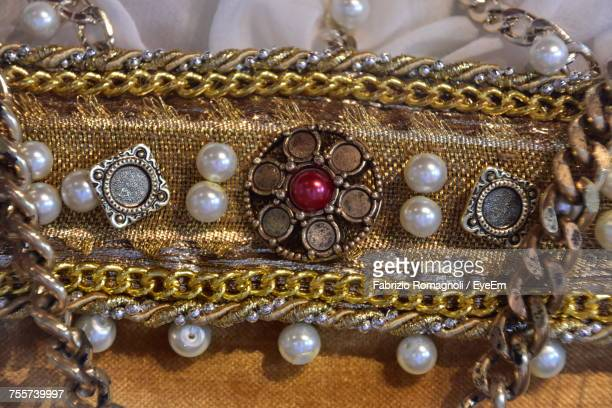 Extreme Close-Up Of Jewelry