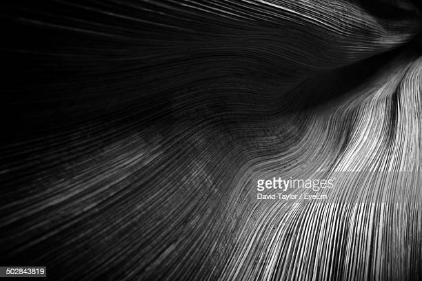 extreme close-up of rock formation - black and white nature stock pictures, royalty-free photos & images