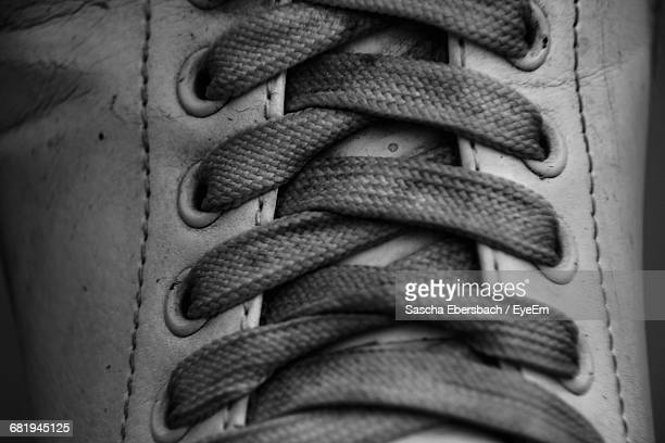 Extreme Close-Up Of Shoe