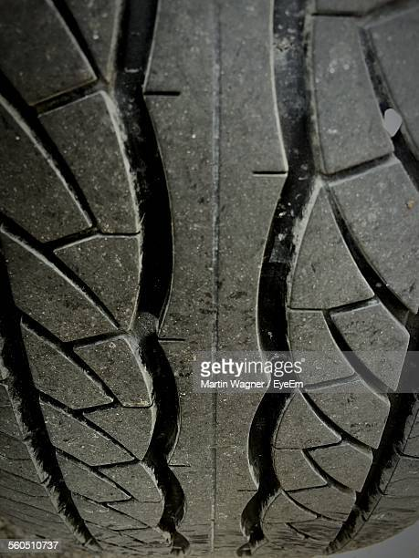 Extreme Close-Up Of Tire