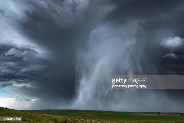 extreme hail storm, nebraska. usa - 雹 ストックフォトと画像