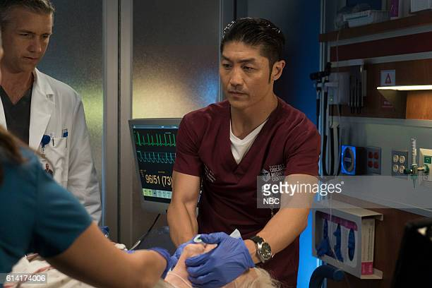 MED Extreme Measures Episode 205 Pictured Jeff Hephner as Jeff Clarke Brian Tee as Ethan Choi