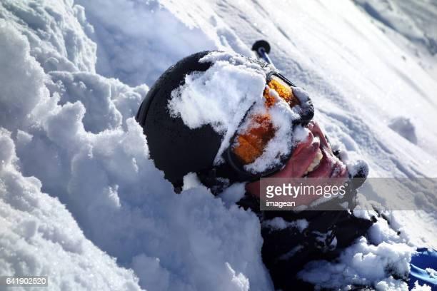 Extreme skiën in St. Anton, Oostenrijk