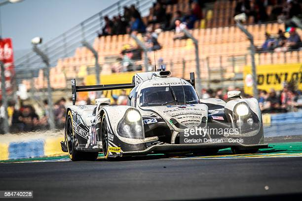 Extreme Speed Motorsports #31 Ligier JS P2 Nissan with Drivers Ryan Dalziel Luis Felipe Derani and Chris Cumming during the 84th running of the Le...