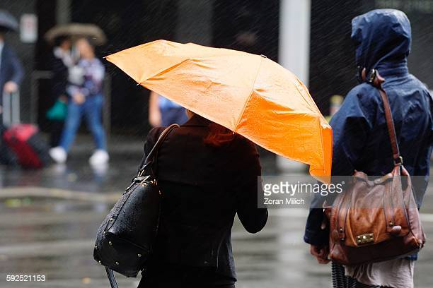 extreme weather - sydney rain stock pictures, royalty-free photos & images