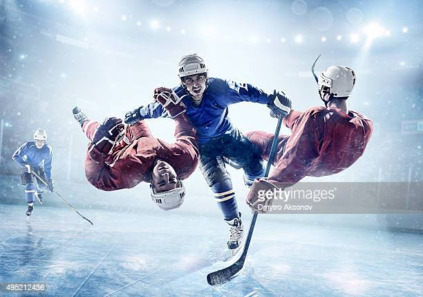 Extrêmement puissante Joueur de hockey sur glace