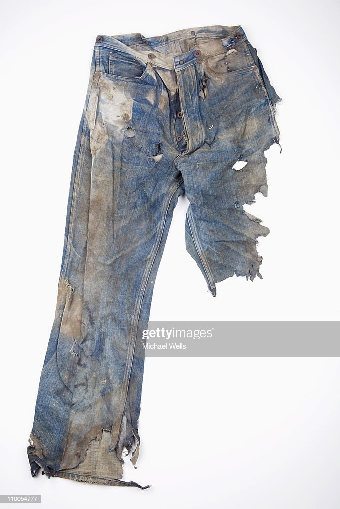 Extremely Worn Out Jeans