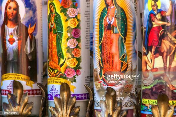ex-votos and mexican catholicism - cero foto e immagini stock