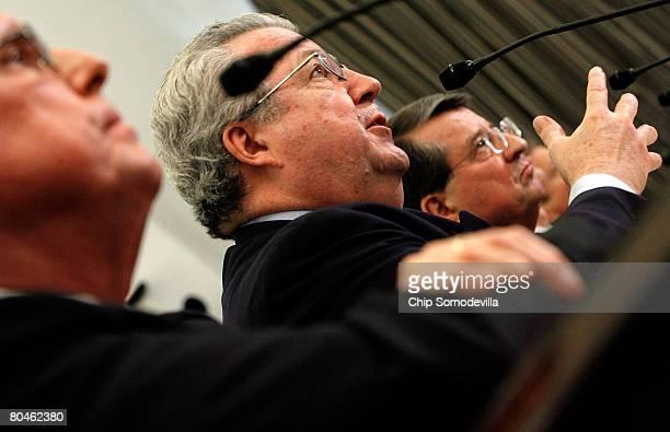 Exxon Mobil Corporation Senior Vice President Stephen Simon Shell Oil Company President John Hofmeister and Peter Robertson vice chairman of Chevron...