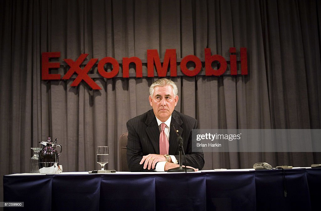 ExxonMobil Holds Annual Shareholder Meeting In Dallas