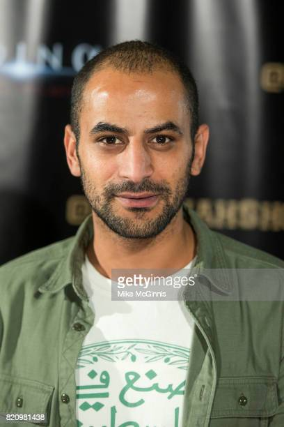 Eyad Houraniattends the International SciFi Series 'Medinah' premiere and red carpet reception at ComicCon International 2017 at The Manchester Grand...