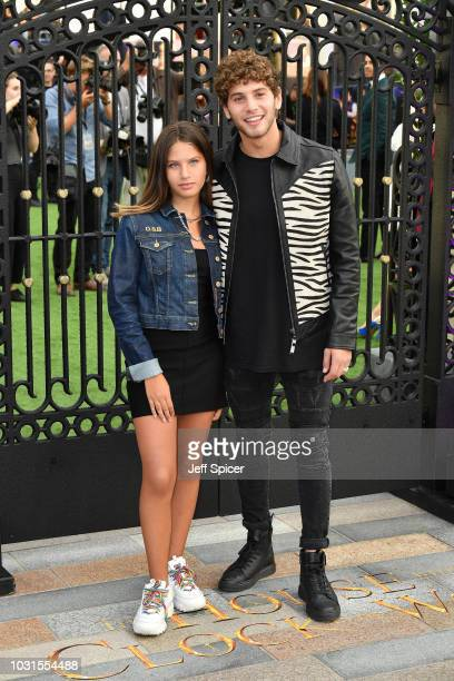 """Eyal Booker and guest attend the World Premiere of """"The House With The Clock In Its Walls"""" at Westfield White City on September 05, 2018 in London,..."""